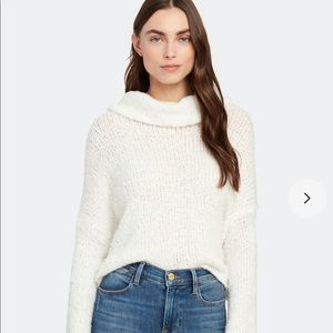 free people cowl kneck slouchy  sweater